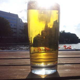 Bier mit märkischem Museum :)