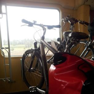Mein Fahrrad fährt Zug! ^^ #nl913