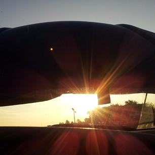 Autopanne im Sonnenaufgang, hooray! #nl913