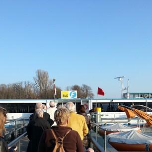 Das erste mal BVG-Fähre fahren :)