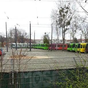 Genug Straßenbahnen für alle :) #streik #üstra