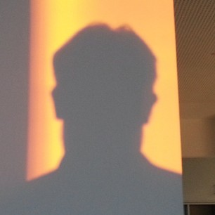 Fat head (me) in sunset light