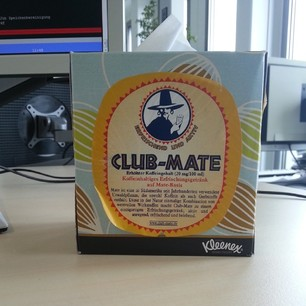 Club-Mate Kleenex-Edition :D