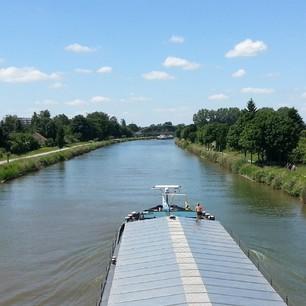 Mittellandkanal in se sun :)