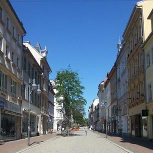 Eine Straße in Gera. #handyfotosfuerschwester