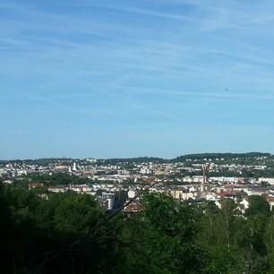 Gera vom Stadtwald aus gesehen #handyfotosfuerschwester