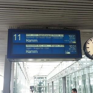 Zugteilung in Hamm und so