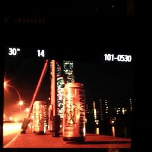 Festival of Lights: sogar das Bier leuchtet astrein. :)