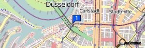 Düsseldorf (Stadtbezirk 4), Nordrhein-Westfalen, Deutschland