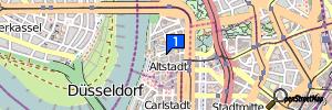 Düsseldorf (Stadtbezirk 1), Nordrhein-Westfalen, Deutschland
