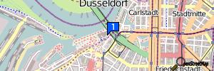 Düsseldorf (Stadtbezirk 3), Nordrhein-Westfalen, Deutschland