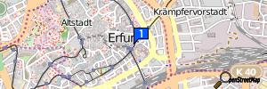 Erfurt, Thüringen, Deutschland