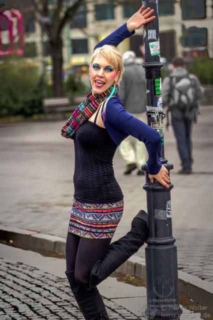 Miss NightKat in Berlin-City