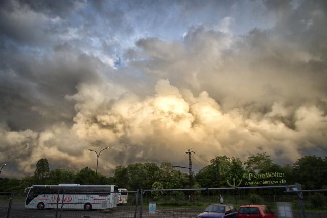 Regenwolken in NRW