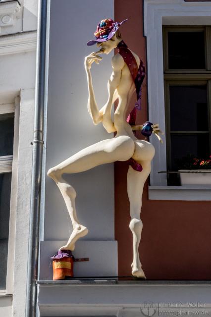 Interessante Figuren in Gera