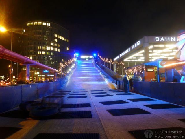 Rutschpiste Potsdamer Platz