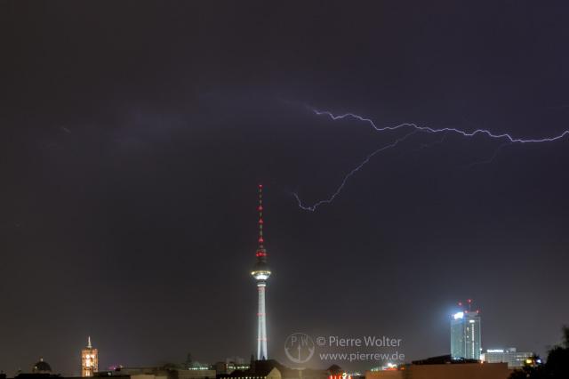 Gewitter am 5. Juli 2015 Berlin