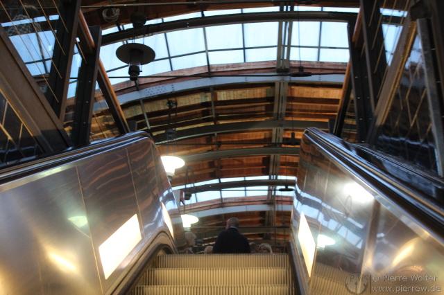 Rolltreppe Hackscher Markt