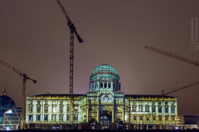 Stadtschloss beim Festival of Lights