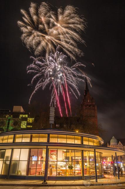 Zweites Geburtstagsfeuerwerk 2016, das Schloss