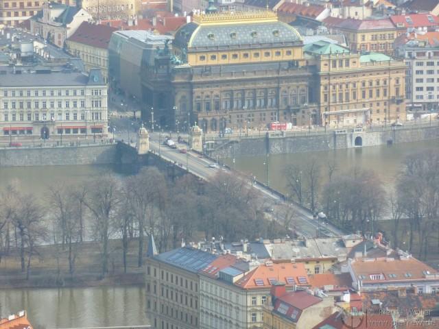 116 View from the Petřínská rozhledna (Petřín Lookout Tower)