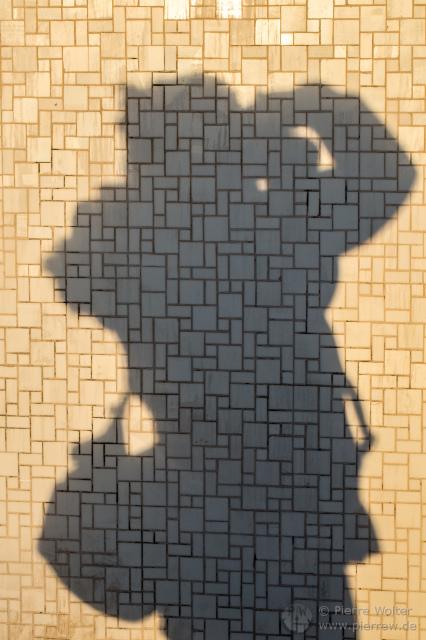 Kimberlys Schatten fotografiert