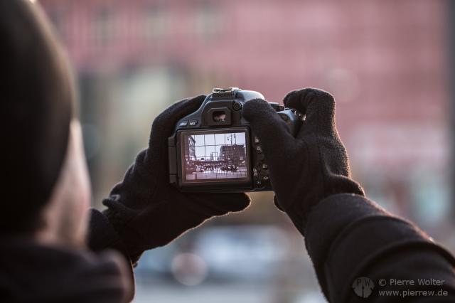 Fotografierende Fotokamera