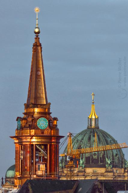Parochialkirche ohne Bauzaun // Berliner Dom