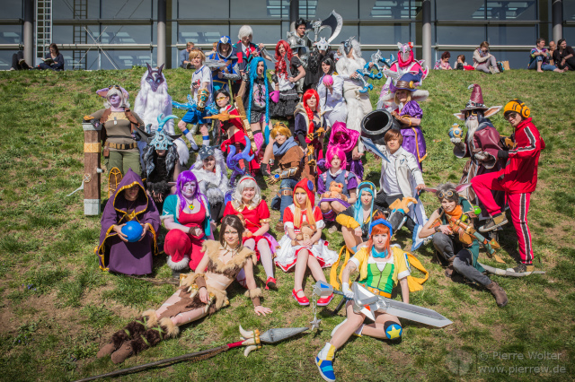 LBM 2017 // League of Legends-Gruppenfoto