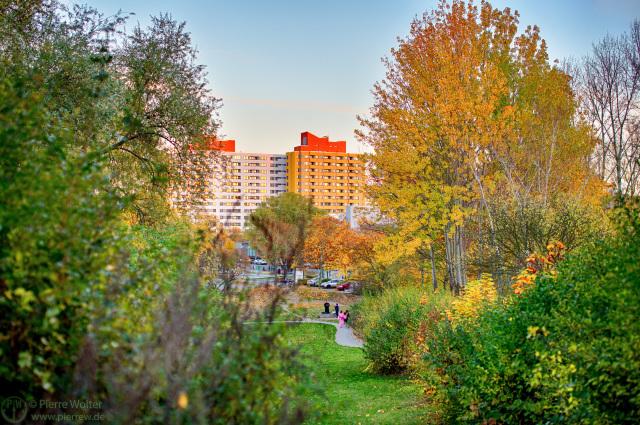 Herbst im Märkischen Viertel zur AniMaCo 2016