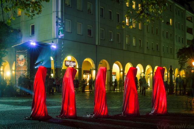 Festival of Lights 2017 // Wächter im Nikolaiviertel