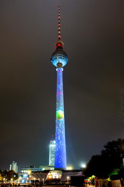 Festival of Lights 2017 // Fernsehturm