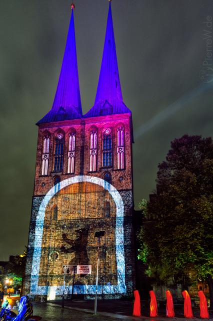 Festival of Lights 2017 // Nikolaikirche