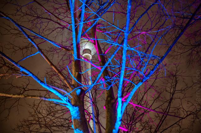 Versteck-Turm mit Farbe