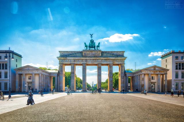 Brandenburger Tor ohne Touristen