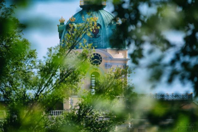 Schloss Charlottenburg versteckt sich