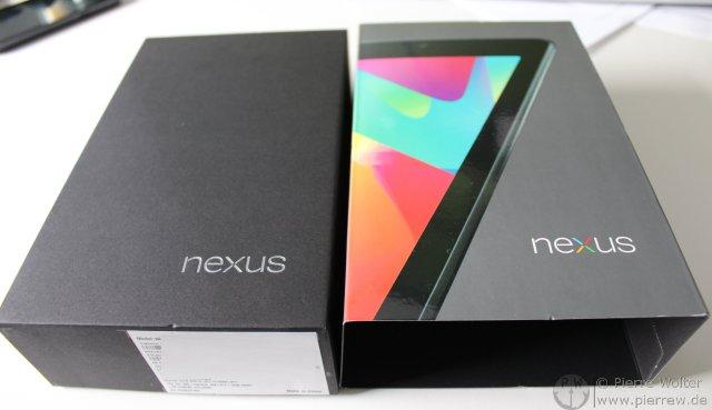 Nexus7 Unboxing