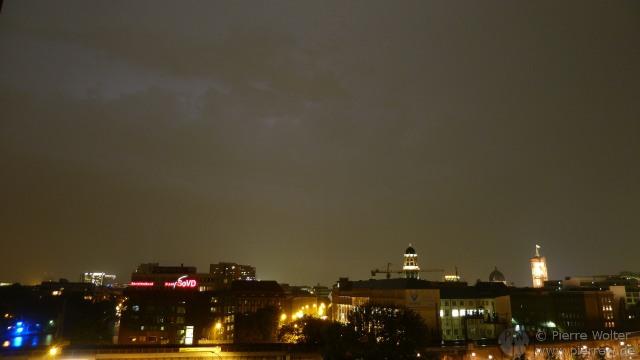 Gewitter über Berlin, 24.08.2011