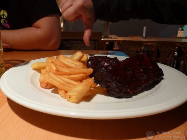04.01.2012: All you can eat Spare-Ribs?