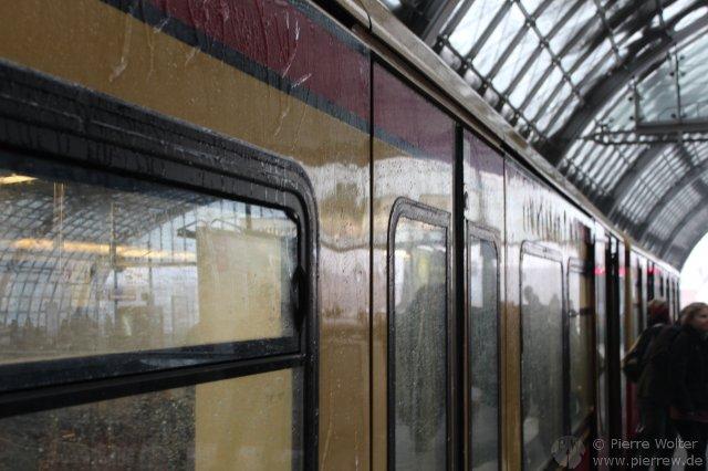 Eisregen an Berliner S-Bahn