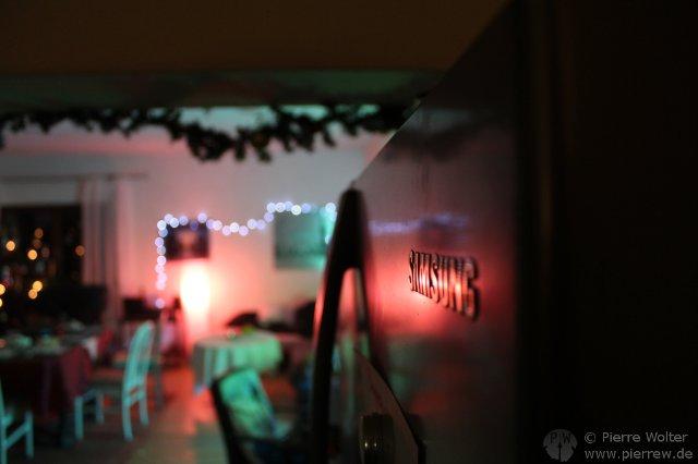 Spiel mit Licht - SAMSUNG-Kühlschrank