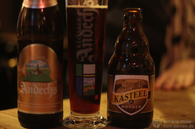 Bier! Andechs Klosterbier und Kasteel aus Belgien