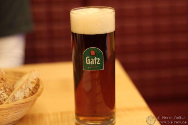 Gatz Altbier - mein erstes.