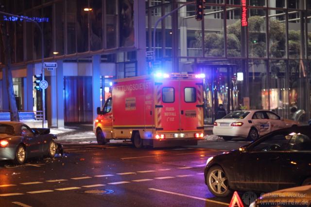 Verkehrsunfall Berliner Allee/Steinstr.