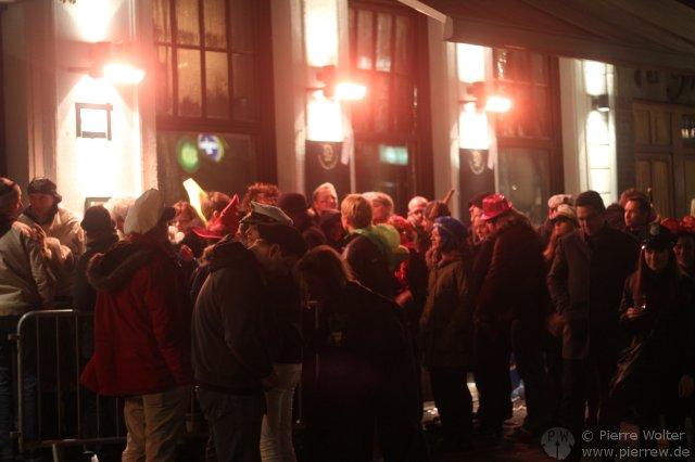 Karnevalssamstag auf der Ratinger Str.