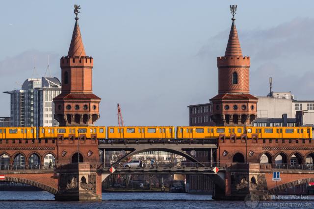 U-Bahn auf Oberbaumbrücke