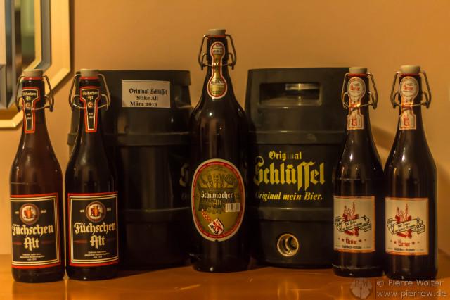 Jede Menge Alt-Bier!
