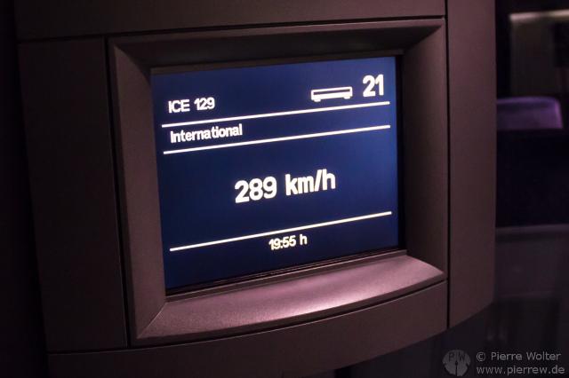 289 km/h