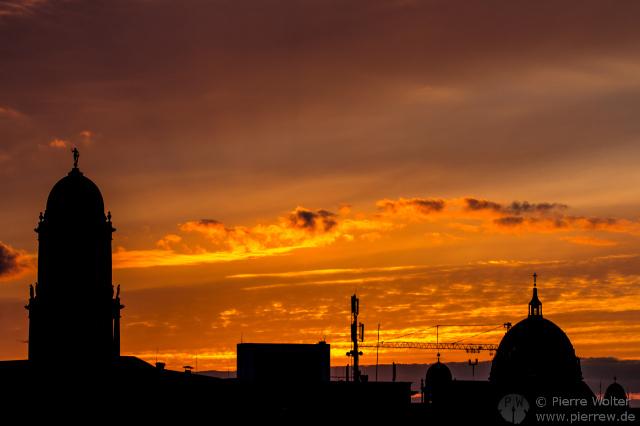 Sonnenuntergang 6. April 2013