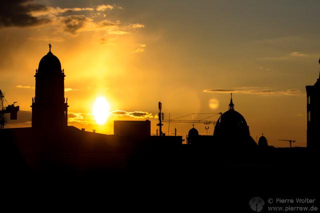 Sonnenuntergang 7. April 2013